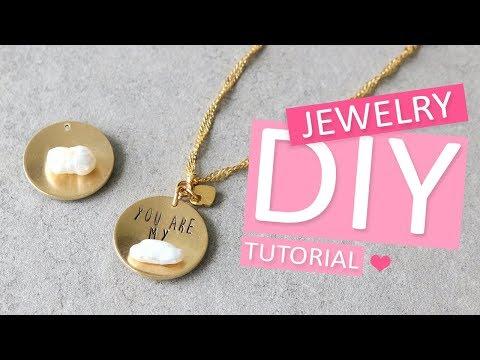 DIY Tutorial – ImpressArt dapping kit basistechniek - Zelf sieraden maken