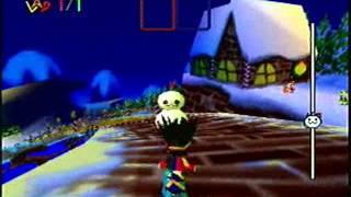 Snowboard Kid 2 Playthrough 4 - Boss: Snowman