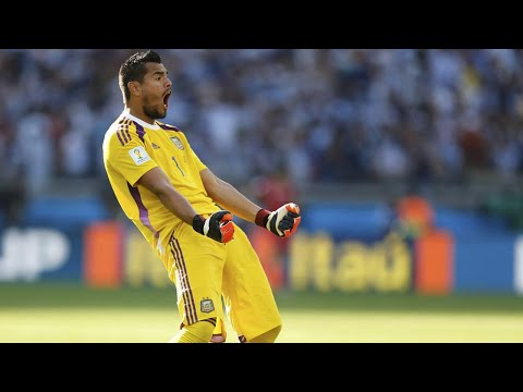Sergio Romero - Best Saves - World Cup 2014 HD