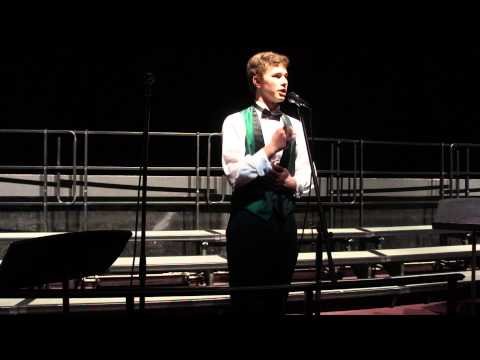 Eric Roper singing The Hippopotamus by Donald Swann & Michael Flanders