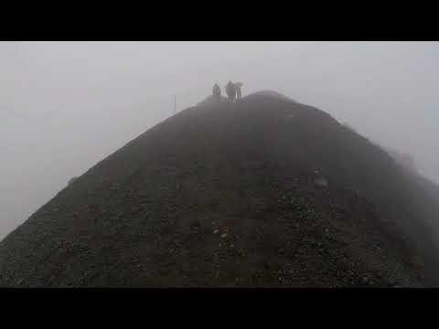 Tongariro Crossing In Bad Weather