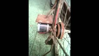 Chế xe đạp điện từ xe đạp thường part 1 - DIY homemade Electric Bicycle