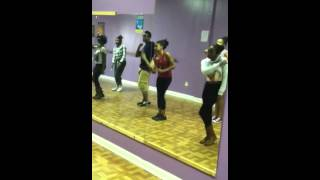 Danz house master hip hop class (Take it to the head)