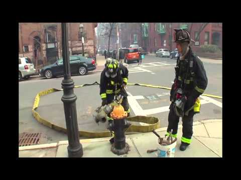 Scene At 9-Alarm Fire On Beacon Street In Boston