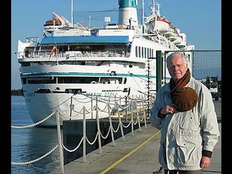 Aboard cruise ship Maxim Gorki. Kreuzfahrt Максим Горький