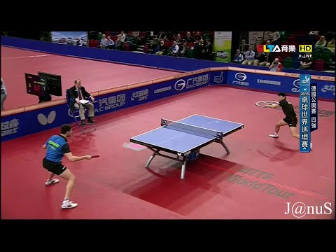 2015 German Open MS-SF1: MA Long - OVTCHAROV  Dimitrij [HD 1080p] [Full Match/Chinese]