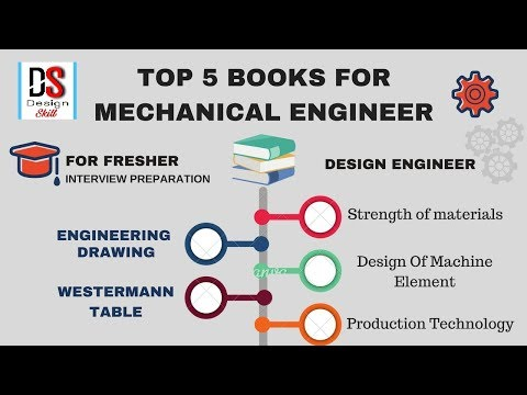 Top 5 Book's For Fresher Mechanical Engineering | Interview Preparation