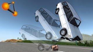 Маленький Камень - Большая Авария | Beamng.Drive