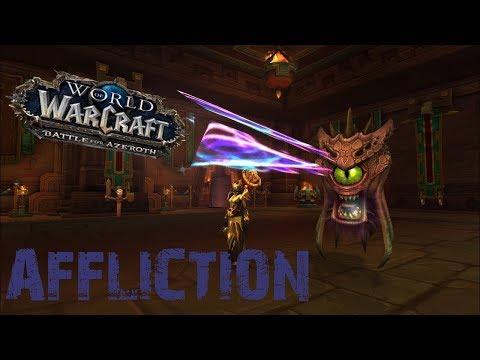 [BFA] - Affliction Warlock in Atal'Dazar - After the changes