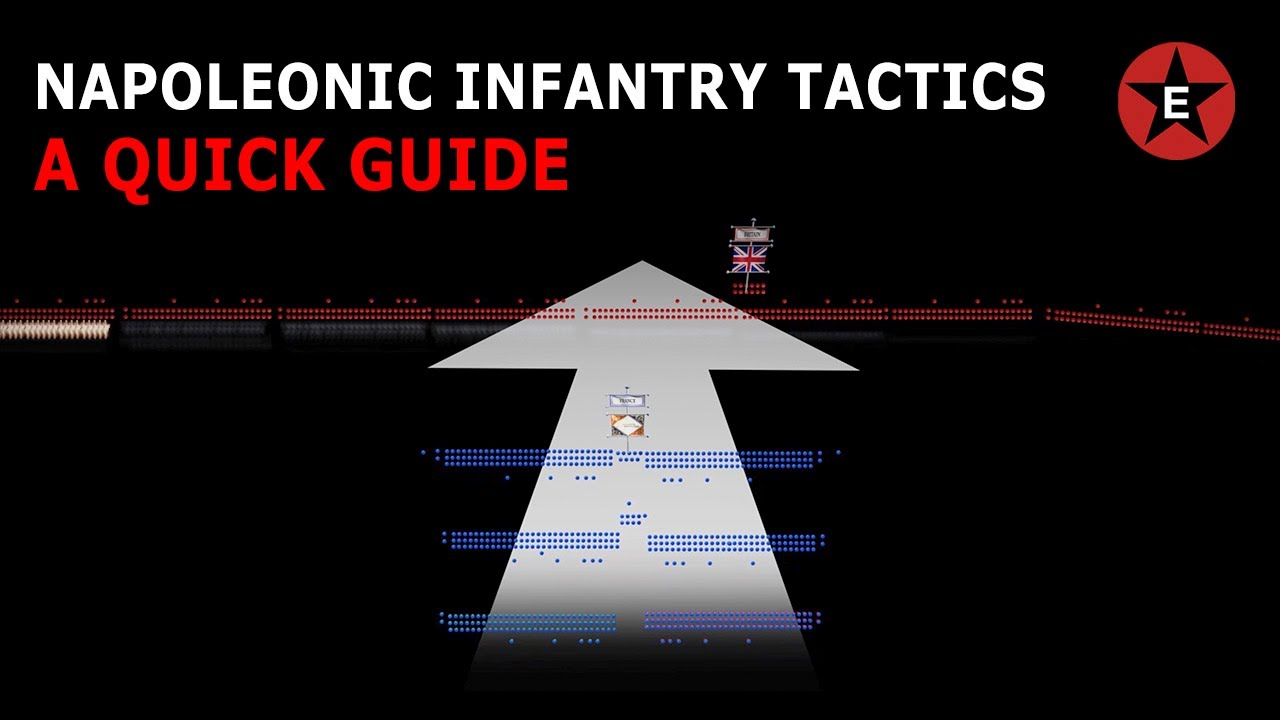 Napoleonic Infantry Tactics : A Quick Guide