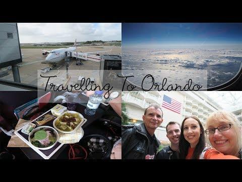Travelling to Orlando Florida Vlog Virgin Atlantic Upper Deck