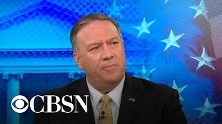 Secretary of State Pompeo acknowledges ISIS regaining strength