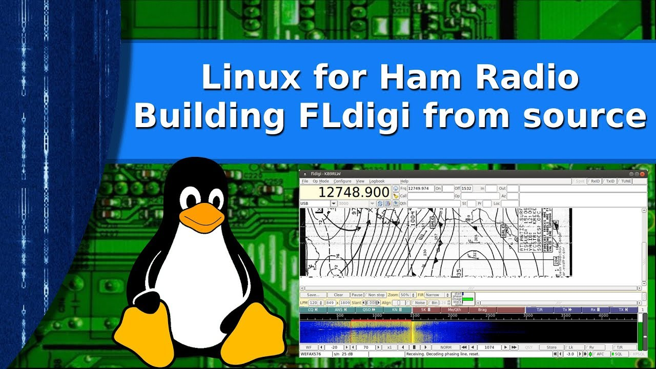 Ham Radio and Linux - Build the latest FLdigi from source under Linux