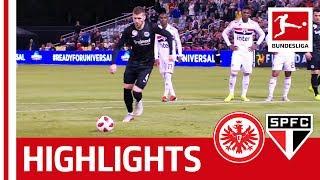 Eintracht Frankfurt vs. FC Sao Paulo I Highlights | 2-1 I Rebic Scores on Rode