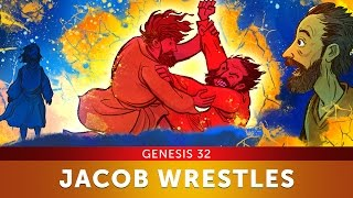 Sunday School Lesson - Jacob Wrestles with God - Genesis 32 - Bible Teaching Stories for VBS