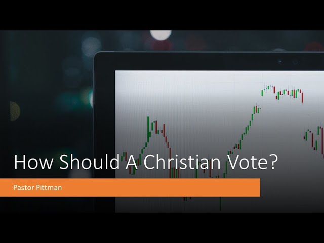 How Should A Christian Vote? · 201105 · Pastor Jerome Pittman