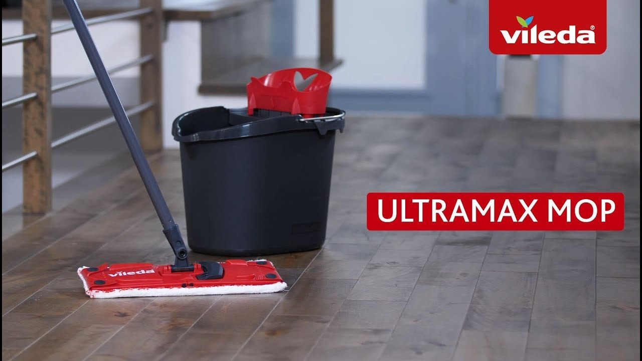 How To Clean Your Floors With The Vileda Ultramax Mop And Bucket
