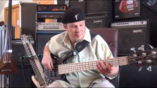 "Warwick Artist Andy Irvine Bass Lesson ""70"