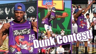 Vince Carter 360 Windmill Tribute! Sick Adidas Dunk Contest Highlights! Video