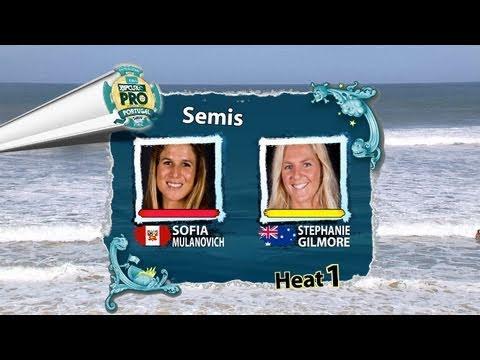 SF1 - Sofia Mulanovich vs Stephanie Gilmore