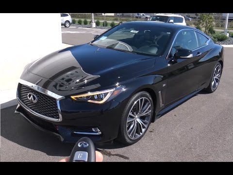 2017 Infiniti Q60 Coupe Drive Interior Review In 4k Hd