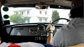a trip on Austin A40 Somerset