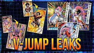 Transforming Super BUU *HEALS AND SEALS?* + NEW Hercule and Buu awakening - V-Jump Leaks