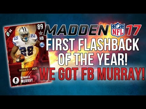 Madden 17 Ultimate Team :: First Flashback Of The Year! ::-XBOX ONE Madden 17 Ultimate Team