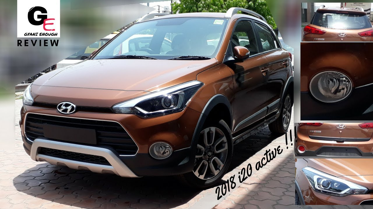 2018 hyundai i20 active s most detailed review price interiors features youtube. Black Bedroom Furniture Sets. Home Design Ideas