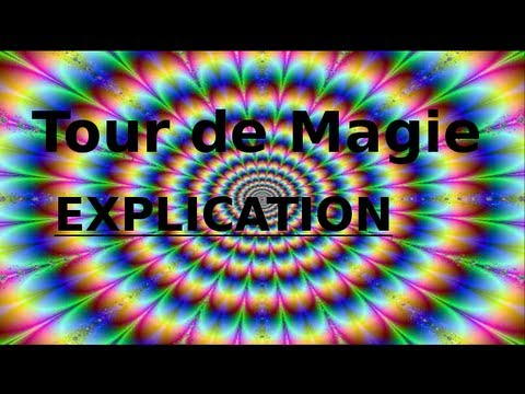tour de magie carte simple avec explication