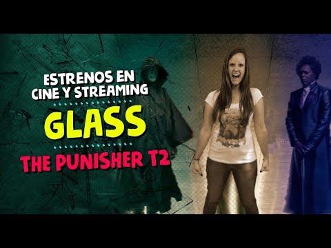 ¿Qué ver? Glass, Punisher T2, El infiltrado del KKKlan