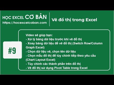 Học Excel cơ bản | #9 Đồ thị trong Excel