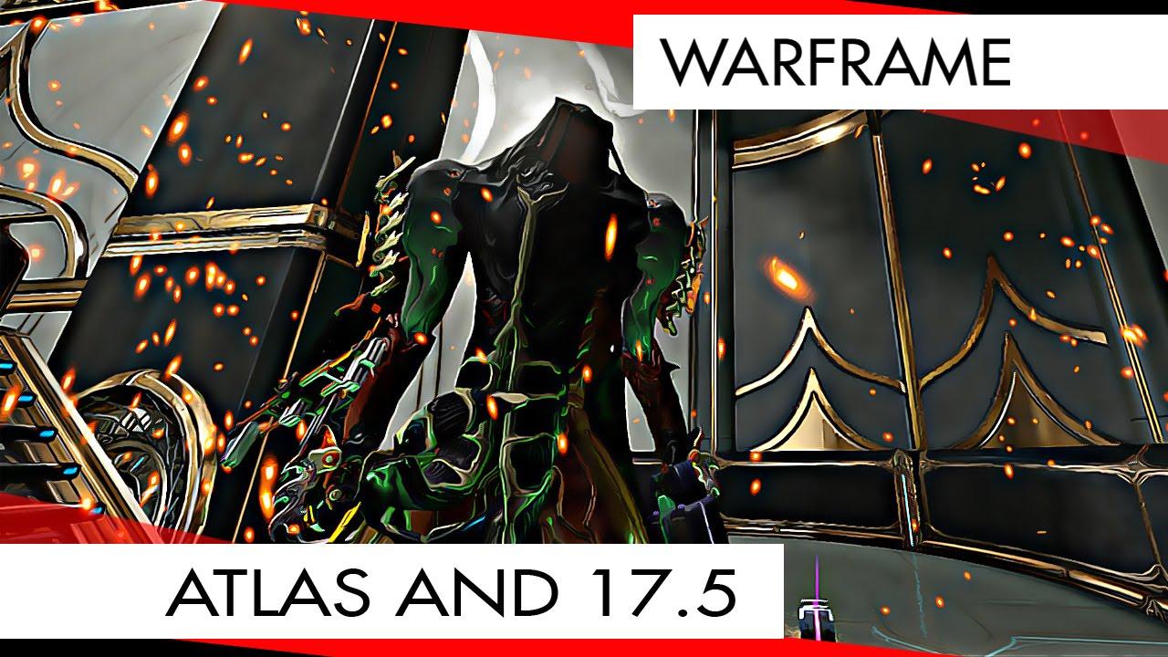 Warframe Atlas The Jordas Precept U175 Quick Look YouTube