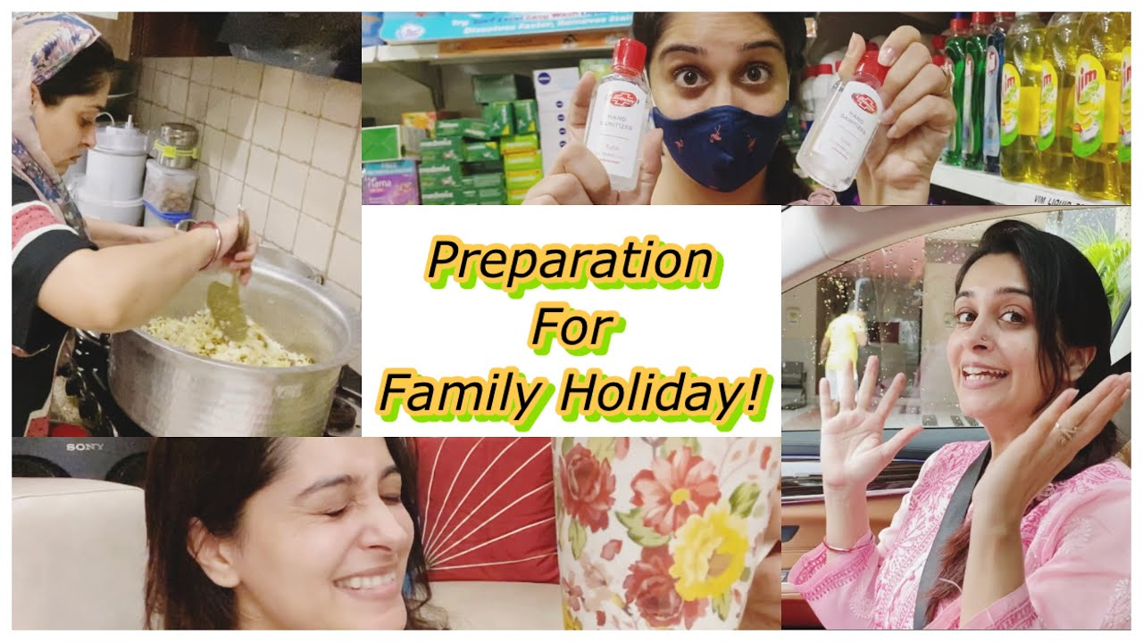 How I Prepare For Our Family Holidays | Dipika Kakar Ibrahim| Ibrahim Family