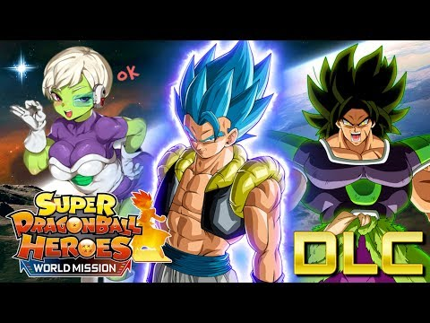 NEW CARDS ARE HERE! LET'S GET THIS BROLY! | Super Dragon Ball Heroes: World Mission