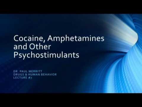 Psychostimulants Cocaine, Amphetamines and other stimulants