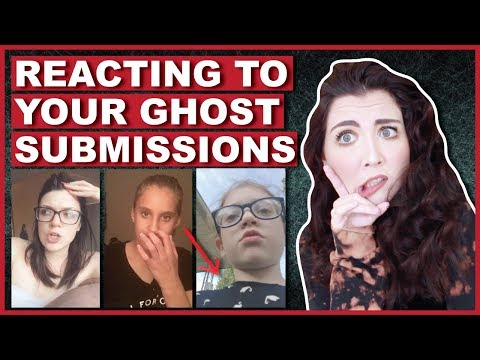 Reacting To YOUR Ghost Video Submissions