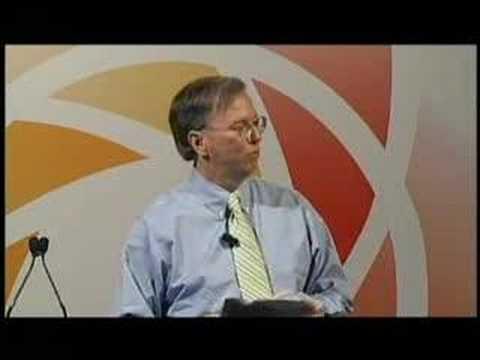 Eric Schmidt at the National Venture Capital Association