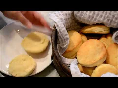 How to make the easiest Biscuits from scratch, simple recipe buttery and creamy - 4 ingredients