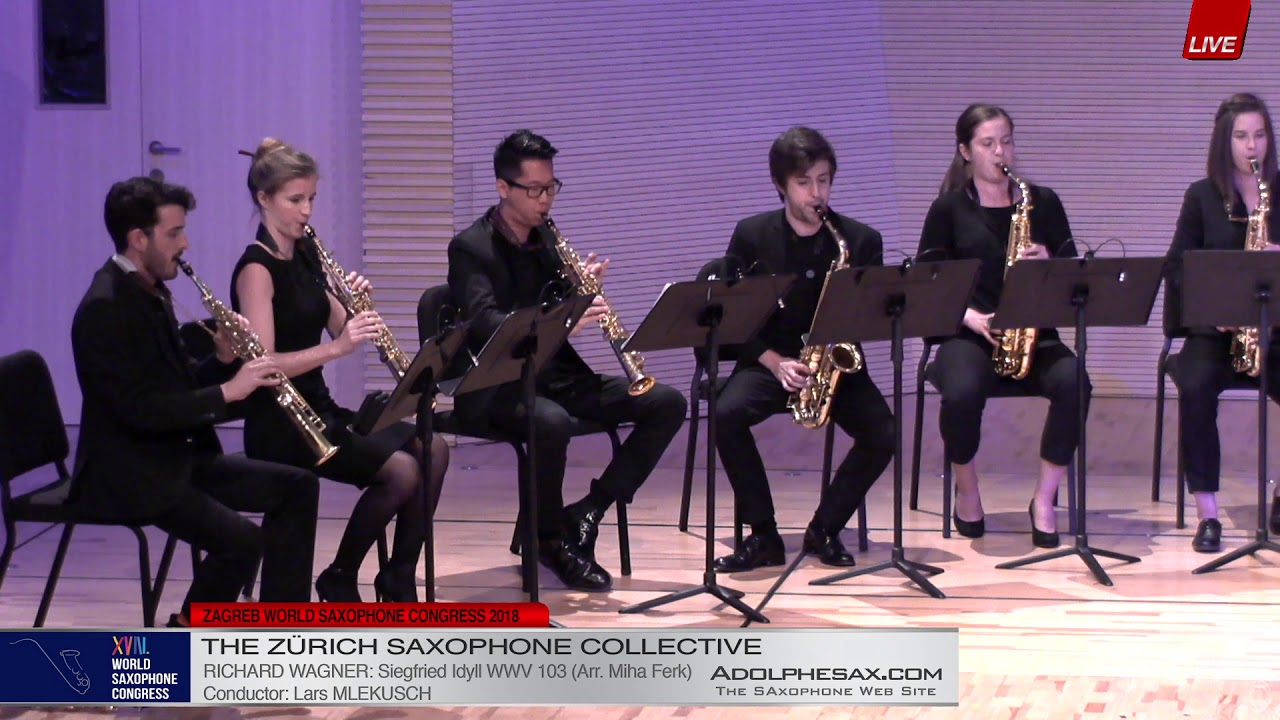 Siegfried Idyll by Richard Wagner    The Zurich Saxophone Collective   XVIII World Sax Congress 2018