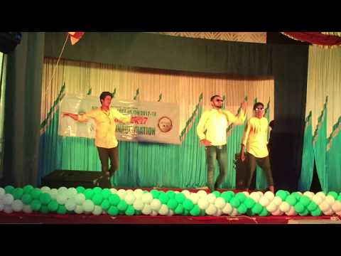 SIR SYED COLLEGE ,FINE ARTS DANCE .FORESTRY KINGS 2017.FULL ENERGY MODE######..joe,johns,ajay