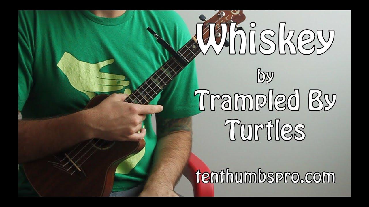 Whiskey - Trampled By Turtles - Strumming u0026 Fingerpicking Ukulele Song Tutorial - YouTube
