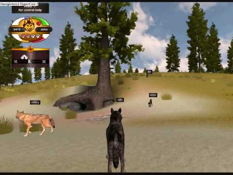 how to play wolf quest