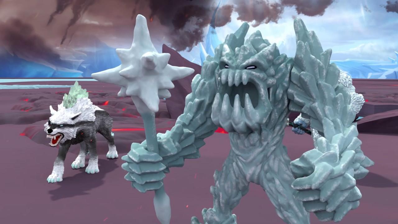 Der Kampf der Schleich Eldrador® Creatures: Eis vs. Lava