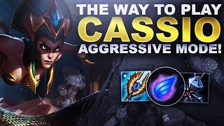 YOU GOTTA PLAY CASSIOPEIA AGGRESSIVE! | League of Legends