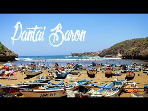 "pantai-baron-gunung-kidul-""tempat-wisata-wajib-di-yogyakarta"""