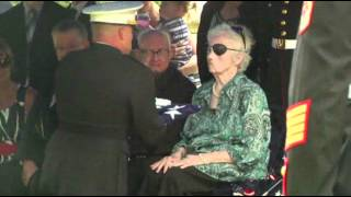 WWII Marine Finally Laid to Rest in Michigan