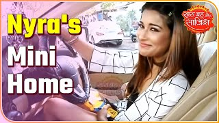 TV actress Nyra Banerjee's car is a mini home