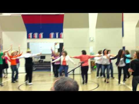 Littlerock Elementary School Talent Show Flash Mob
