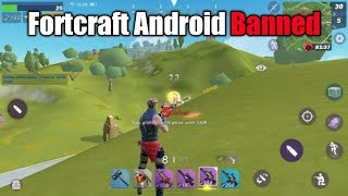 🔥 Fortcraft For Android | Real or Fake | scam | Full Detail | Fortnite clone For Android |